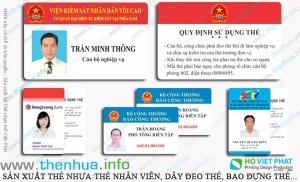 In Thẻ Nhựa Nhân Viên Tại Sài Gòn Đảm Bảo Uy Tín - Chất Lượng Cao