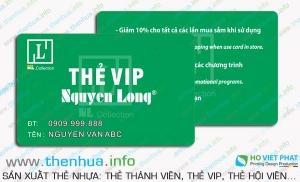 Giới thiệu công dụng của thẻ hội viên