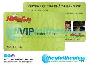 Chuyên sản xuất thẻ Vip