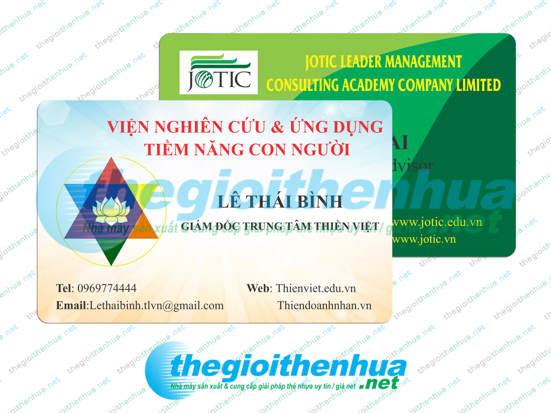 In member card cho CLB Thiền Việt