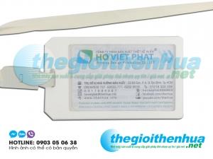 Dây đeo thẻ Viet Nam Land satin 1.5cm