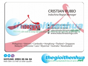 In name card cho công ty Indochina