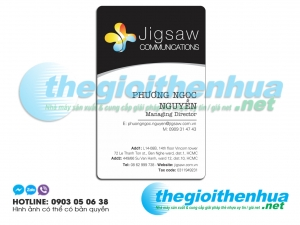 In name card cho Jigsaw Communications