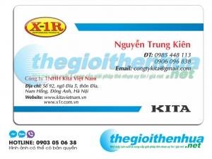 In name card cho công ty TNHH Kita Việt Nam