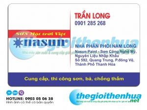 In name card cho nhà phân phối Nasun