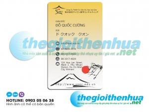 In name card cho công ty TNHH Tư vấn du học Sài Gòn