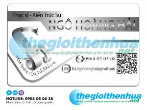 In name card nhân viên cho Tầm nhìn của tương lai