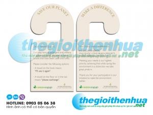Làm thẻ treo ổ khóa phòng cho Green Engage