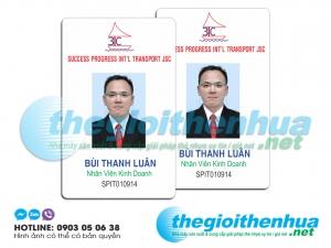 In thẻ nhân viên cho công ty 3TC