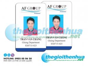 In thẻ nhân viên cho công ty AF Group1