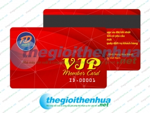 In vip member card cho FD Mart