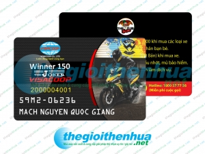 In member card cho VisaCoop
