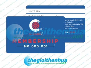 In membership card cho C- Care