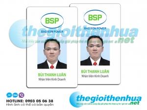 In thẻ nhân viên cho Bao Son Power
