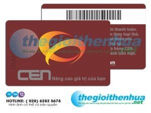 In member card cho công ty Cen
