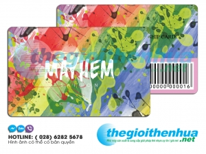 In membership card cho MAYHEM Sai Gon