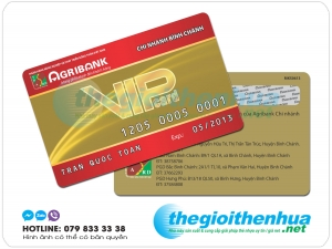 In Thẻ ATM ngân hàng